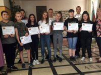 "Ученици от ОУ ""Св. Климент Охридски"" – Плевен получиха удостоверения за участие в здравни инициативи"