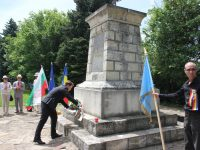 Паметен ритуал се проведе за загиналите за Освобождението на Плевен румънци (снимки)