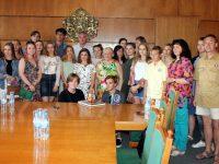 Руски студенти гостуваха на кмета Спартански