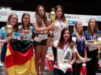 """Триумф за отбор """"Плевен"""" на Европейското по шахмат за девойки до 18 години"""