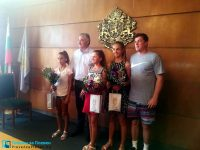 Кметът Спартански поздрави Роси и Йоана за блестящото представяне в Италия