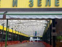 Приключи ремонтът на пазара за плодове и зеленчуци в Плевен
