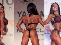 """Плевенчанка е първата ни културистка с професионална карта в категория """"Бикини фитнес"""""""