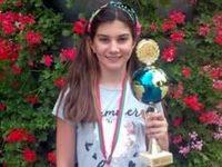 """Нора Рашева с първо място на турнира """"Надеждите на света"""""""