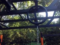Първи щети по новата площадка за стрийт фитнес в Плевен