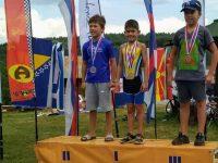 """Две първи места за състезателите на СК по триатлон """"Борислав Доков"""" – Плевен от турнир в Сърбия"""