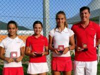 Националките по тенис на България до 12 години – четвърти в Европа!