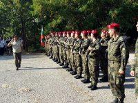 Плевенски военни участваха в ритуала по повод 142 години от Освобождението на Ловеч