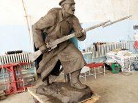 Започва отливането на две от фигурите за паметника на Девета пехотна плевенска дивизия (снимки)