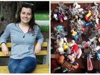 Млада плевенчанка колекционира ключодържатели, вече има близо 400 от цял свят