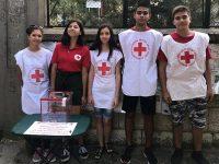 Младите червенокръстци проведоха дарителска кампания в Гулянци