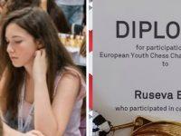 Успешно представяне на Ева Русева (Спартак Плевен XXI) на европейско първенство по шахмат