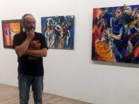 52 картини в ритъма на джаза показва Господин Цветков в Артцентър – Плевен