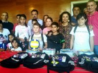 Представители на ОбС – Плевен зарадваха деца в Беглеж с подаръци за първия учебен ден