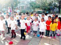 "ДГ ""Слънце"" – Левски се включи в инициативата Европейски ден на спорта в училище"