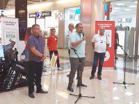 Кампания за пътна безопасност се проведе днес в Панорама мол Плевен – снимки