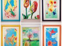 """Творби на децата от школа """"Таланти"""" участват в благотворителен търг на Лайънс клуб – Плевен"""