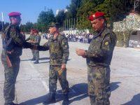139 войници получиха удостоверенията си за начална военна подготовка в Плевен