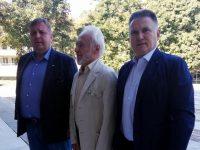 """Красимир Каракачанов и д-р Калин Поповски присъстваха на премиерата на книгата """"Воинската харизма на българите"""""""