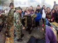 "Ученици от ОУ ""Васил Левски"" – Белене посетиха 55-ти инженерен полк"