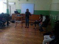 """Дискусия на тема """"Синтетична дрога и последици от  употребата й"""" се проведе в ПГМХТ – Плевен"""