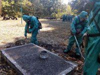 Военни от Плевен и Белене участват в полева подготовка по ядрена, химическа и биологическа защита