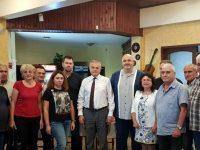 На голяма среща в село Муселиево ПП АБВ представи пълната си ли листа от 13 кандидати за общински съветници за предстоящия местен вот в община Никопол