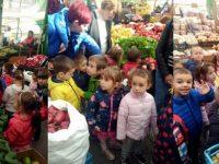 Детски глъч огласи кооперативния пазар в Плевен
