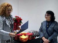 Тържествено отбелязаха 80-годишнината на първата жена директор на Института по лозарство и винарство в Плевен