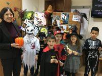 Забавни и страховити занимания за Хелоуин се проведоха в плевенската Библиотека
