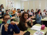 """Езикова гимназия – Плевен се включи в европейската инициатива """"Дни на Еразъм"""""""