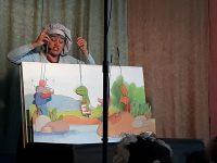 """Малчуганите на ДГ """"Калина"""" – Плевен се забавляваха с историята на """"Жабокът и чужденецът"""""""