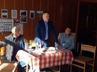 Д-р Калин Поповски се срещна сизбиратели в село Бръшляница