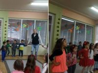 """Деца, учители и родители дават заедно старт за един усмихнат ден в ДГ """"Гергана"""" – Плевен"""