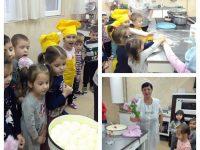 """Деца от ДГ """"Калина"""" – Плевен омесиха питка за Деня на християнското семейство"""