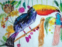 """5-годишна художничка от артшкола """"Колорит"""" спечели най-високото отличие на конкурс в Полша"""