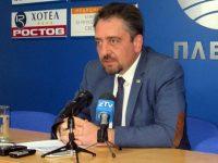 Мартин Митев, председател на ОбС – Плевен, с думи на благодарност към здравните работници