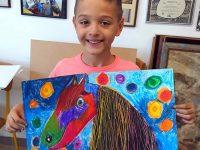 """8-годишен художник от артшкола """"Колорит"""" с най-високо отличие от международен конкурс"""