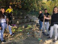 Ученици от ПГРТО – Плевен организираха есенно почистване