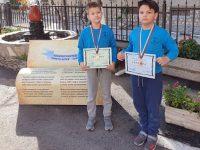 """Ученици от НУ """"Христо Ботев"""" с медали от математическо състезание"""