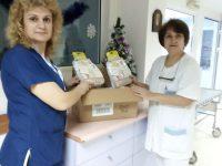 """Инициатива """"Коледно чувалче """" се проведе в Родилното на УМБАЛ """"Д-р Г. Странски"""" – Плевен"""