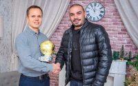 """Мартин Христов е носителят на """"Златната топка"""" на БАМФ-Плевен"""
