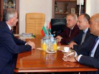 Почетният консул на Йордания у нас посети Плевен по инициатива на Румен Петков
