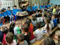 """Ученици на НУ """"Христо Ботев"""" – Плевен отбелязаха Седмицата на четенето"""