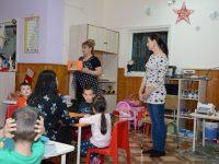 """Коледна работилница в ДГ """"Щастливо детство"""" град Плевен в подкрепа на Велина от Бургас"""