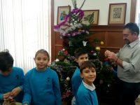 Председателят на Общинския съвет в Плевен посрещна скъпи гости на Игнажден