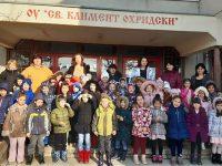 "Малчугани от ДГ ""Калина"" и ученици на ОУ ""Св. Климент Охридски"" празнуваха освобождението на Плевен"