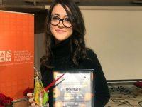"""Татяна Йорданова от град Левски с награда""""Журналист – надежда"""""""