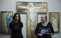 Втора самостоятелна изложба на Румяна Живкова в Къщата на художниците – снимки