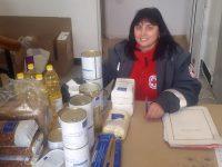 БЧК продължава да раздава хранителни продукти на уязвими граждани в област Плевен